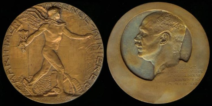 World Coins - 1929 Belgium – Ministry for Mining and Maritime