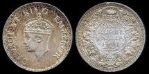 World Coins - 1941 B India 1 Rupee UNC