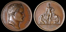 World Coins - 1805 France - Napoleon - The Taking of Vienna and Pressburg by Jean-Bertrand Andrieu, Dominique-Vivant Denon and Andre Galle