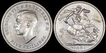 "World Coins - 1951 Great Britain 1 Crown ""Festival of Britain"" George VI - UNC"