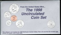 Us Coins - 1998 US Mint Set