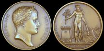 World Coins - 1809 France - Napoleon - Campaign of 1809; The Vienna Peace Treaty by Jean-Bertrand Andrieu and Dominique-Vivant Denon