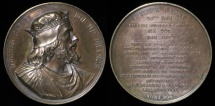 World Coins - 1838 France - King Hugh Capet, 1st King of the Franks of the House of Capet (987-996) by Armand-Auguste Caqué  #36