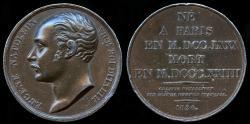 World Coins - 1826 France - Eugene-Napoleon vice-roi of the Kingdom of Italy.