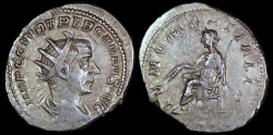 Ancient Coins - Trebonianus Gallus Antoninianus - IVNO MARTIALIS - Mediolanum Mint