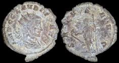 Ancient Coins - Claudius II Antoninianus - SALVS AVG - Rome Mint