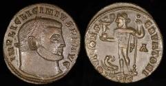 Ancient Coins - Licinius I Ae3 - IOVI CONSERVATORI - Siscia Mint
