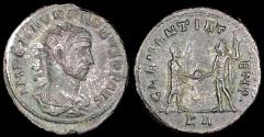 Ancient Coins - Probus Antoninianus - CLEMENTIA TEMP - Tripoli Mint