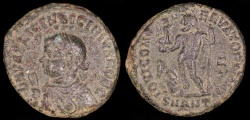 Ancient Coins - Licinius II Ae3 - IOVI CONSERVATORI CAESS NN - Antioch Mint