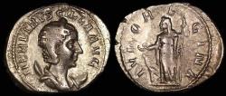 Ancient Coins - Herennia Estrucilla Antoninianus - IVNO REGINA - Rome Mint