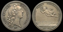 World Coins - 1752 French American Colonial Jetón