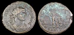Ancient Coins - Diocletian Antoninianus - HERCVLI CONSERVAT - Ticinum Mint