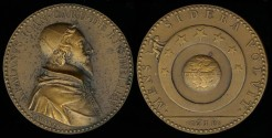 World Coins - 1631  France - Armand Jean du Plessis, Cardinal-duc de Richelieu et de Fronsac; French clergyman, noble and statesman and King Louis XIII's chief minister by Jean Warin
