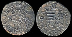 World Coins - 1490-1516 Hungary Denar - Vladislav II XF