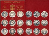 World Coins - 1987 Vatican – The Popes of the 20th Century