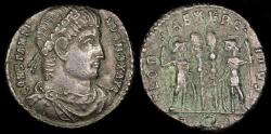 Ancient Coins - Constantine I Ae3 - GLORIA EXERCITVS - Aquileia Mint