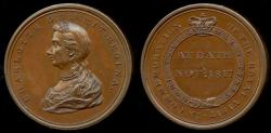 World Coins - 1817  Great Britain - Visit of Queen Charlotte to Bath by Peter Kempson