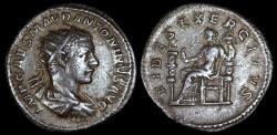 Ancient Coins - Elagabalus Antoninianus - FIDES EXERCITVS - Rome Mint