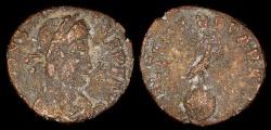 Ancient Coins - Constantius II Half Centenionalis - FEL TEMP REPARATIO - Rome Mint
