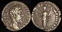 Ancient Coins - Commodus Denarius - HILAR AVG PM TRP XII IMP VIII COS V PP - Rome Mint