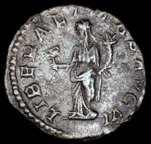 Ancient Coins - Septimius Severus Denarius - LIBERALITAS AVG VI - Rome Mint