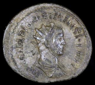 Ancient Coins - Diocletian Antoninianus - PROVIDENTIA AVG - Lugdunum Mint