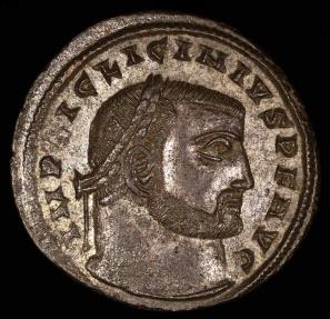 Ancient Coins - Licinius I Follis - IOVI CONSERVATORI - Siscia Mint