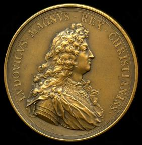 World Coins - 1664 France - Louis XIV - The Corsican Crime Excused by Jean Mauger and Jean Dollin