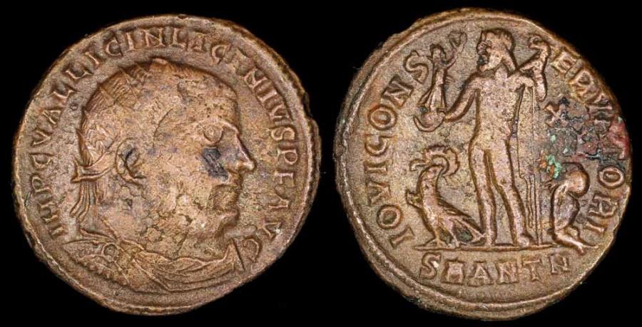 Ancient Coins - Licinius I Follis - IOVI CONSERVATORI - Antioch Mint