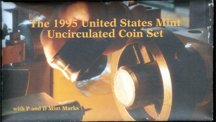 US Coins - 1995 US Mint Set