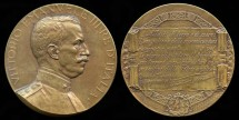 World Coins - 1915 Italy – King Vittorio Emanuel III - May 26 Proclamation Medal - WW I