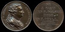 World Coins - 1826 France - Jacques Denis Antoine (French architect designer of the French Mint in Paris) by Nicolas-Pierre Tiolier