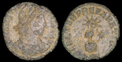 Ancient Coins - Constans 1/2 Centenionalis - FEL TEMP REPARATIO - Undetermined Mint