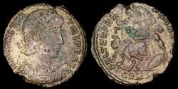 Ancient Coins - Constantius II Centenionalis - FEL TEMP REPARATIO - Constantinople Mint