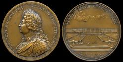 World Coins - 1687  France - Louis XIV - Château de Versailles by Michel Molart