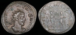 Ancient Coins - Gallienus Antoninianus - VICTORIA GERMAN - Asian Mint