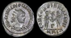 Ancient Coins - Diocletian Antoninianus - CONCORDIA MILITVM - Siscia Mint