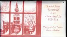 Us Coins - 1976 Bicentennial Uncirculated Silver Set