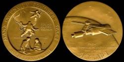 World Coins - 1973 US: Skylab 1 commemorative medal