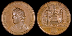 World Coins - 1859 Germany - Johann Christoph Friedrich von Schiller, poet, philosopher, and historian - Commemorating the Centennial of his Birth by F. Staudigel and C. Schnitzspahn
