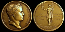 World Coins - 1805 France - Napoleon - The Standards Recovered by Jean-Bertrand Andrieu, Nicolas Guy Antoine Brenet and Dominique-Vivant Denon