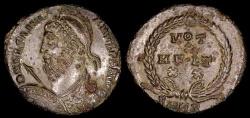 Ancient Coins - Julian II Ae3 - VOT X MVLT XX - Alexandria Mint