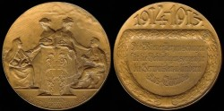 World Coins - 1914 Austria - Benevolence of the City of Vienna to Great War Afflicted