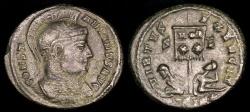 Ancient Coins - Constantine I Ae3 - VIRTVS EXERCIT - Trier Mint