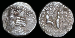 Ancient Coins - Vardanes I Tetradrachm (43 AD) - Seleucia Mint