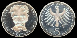 World Coins - 1975 G Federal Republic (Germany) Commemorative Proof
