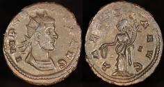 Ancient Coins - Claudius II Antoninianus - LAETITIA AVG - Siscia Mint