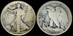 Us Coins - 1917 S Walking Liberty Half Dollar G