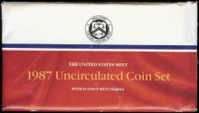 Us Coins - 1987 US Mint Set