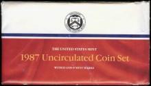Us Coins - 1987 US Mint Set